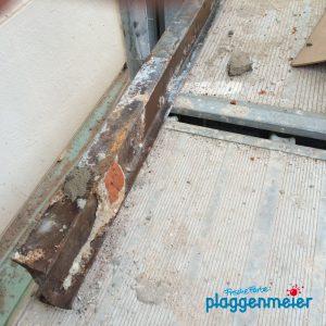 Die Sanierung von Fensterstürzen ist eine gewichtige Angelegenheit - Malermeister Bremen