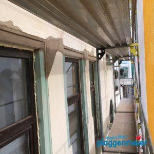 Original wieder hergestellt: Der Bremer Maler liefert die Sanierung von Fensterstürzen gleich mit!