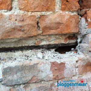 Tiefgehende Schäden werden auch gründlich behandelt - Bremer Maler saniert Ihre Fassade!