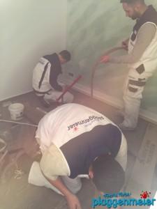 Die Auszubildenden helfen sich gegenseitig - Azubi Projekte beim führenden Bremer Malereibetrieb!