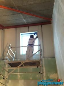 Bei widrigem Raumklima werden sogar Abklebearbeiten zur Herausforderung - Optimaler Maler aus Bremen