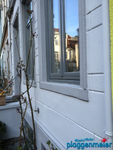 Aussenanstrich mit Fensterüberarbeitung - Bremer Maler mit Anspruch!