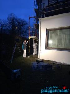 Fassadensanierung in Hemelingen - Arbeiten sogar im Januar