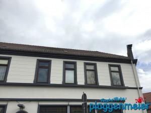 Sauber abgesetzt - Fassadensanierung in Hemelingen mit edler Farbgestaltung - in Bremen machen wir das!