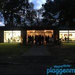 Eröffnungszeremonie für die Ausstellung im Rathaus Hülsen