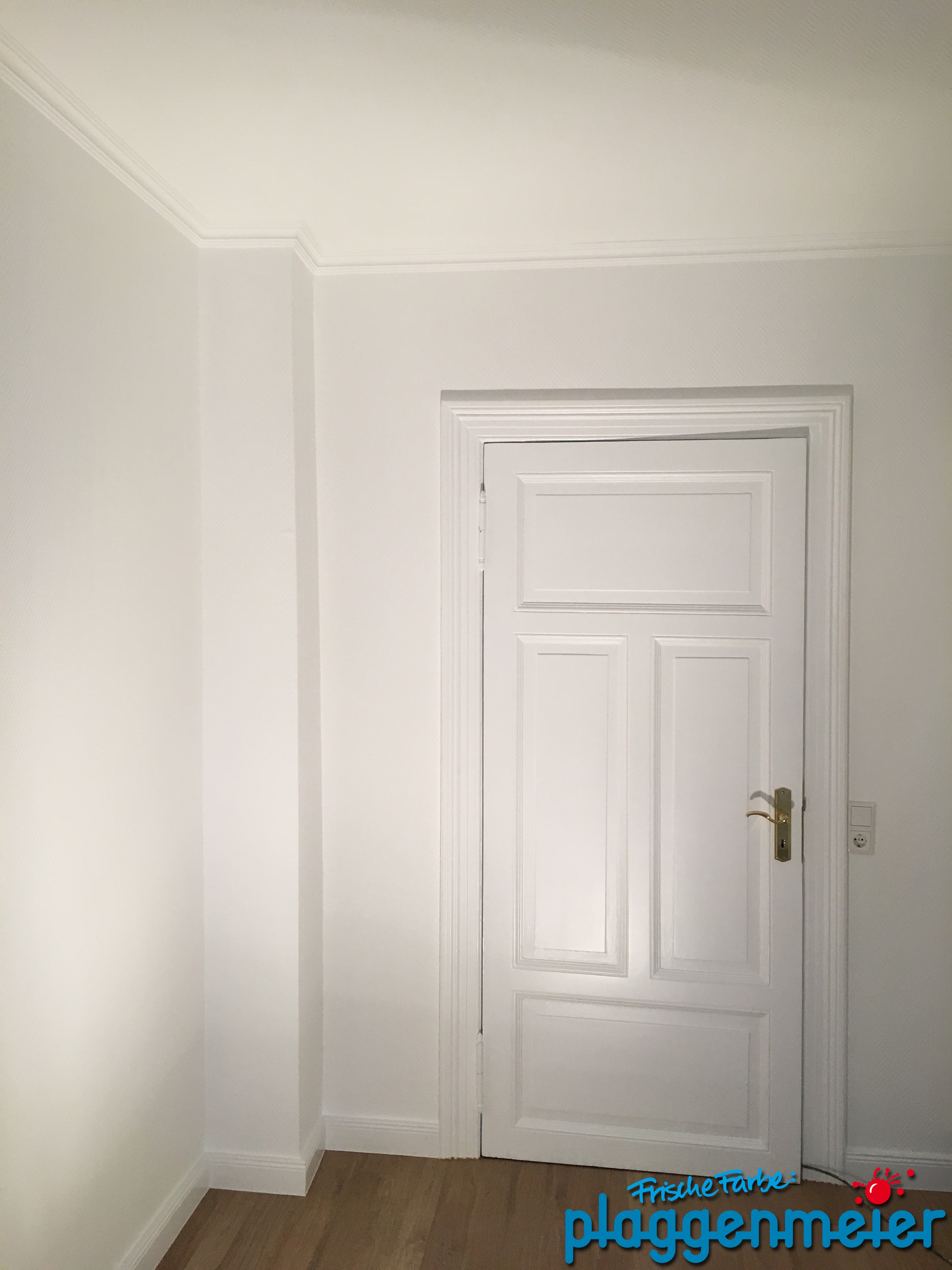 Und Noch Eine Von Hand Aufbereitete Tür   Malerbetrieb Aus Bremen