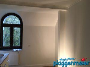 Das wird das Schlafzimmer - mit Parkblick! Maler renoviert Luxus Wohnung in Bremen