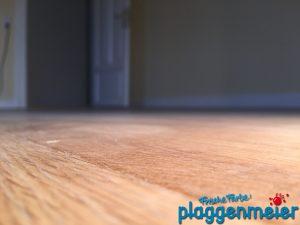 Böden in perfekter Holzoptik, aber pflegeleicht. Laminat nimmt dafür heute niemand mehr... Malereibetrieb Plaggenmeier