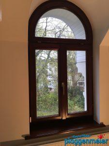 Fensternischen: alle Kanten wurden nach über 30 Jahren wieder messerscharf gespachtelt - Maler aus Bremen bei Luxus Renovierung