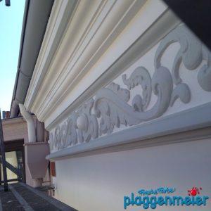 Typisch für Bremer Gründerzeit Fassaden: Fassadenstruck - von uns rekonstruiert und aufbereitet.