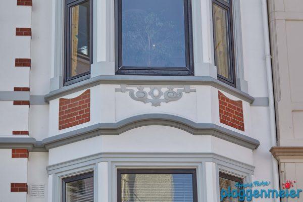 In so ein Haus kehrt man gern zurück. Von uns in Bremen sanierte Gründerzeit Fassade.