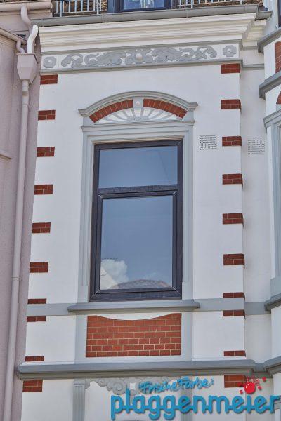 Die Detailverliebtheit einer Gründerzeit Fassade wirkt nur so schön, weil es authentisch ist