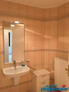 Die Versiegelung des Badezimmers machen wir gleich mit!
