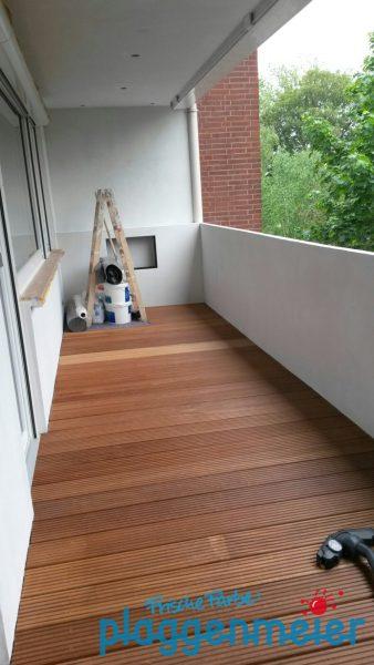 Jetzt packen wir zusammen. Ergebnis: ein perfekter Balkon zum Wohnen und Leben!