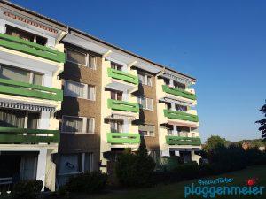 Farbentwurf für eine architektonisch nicht gerade ansprechende Immobilie