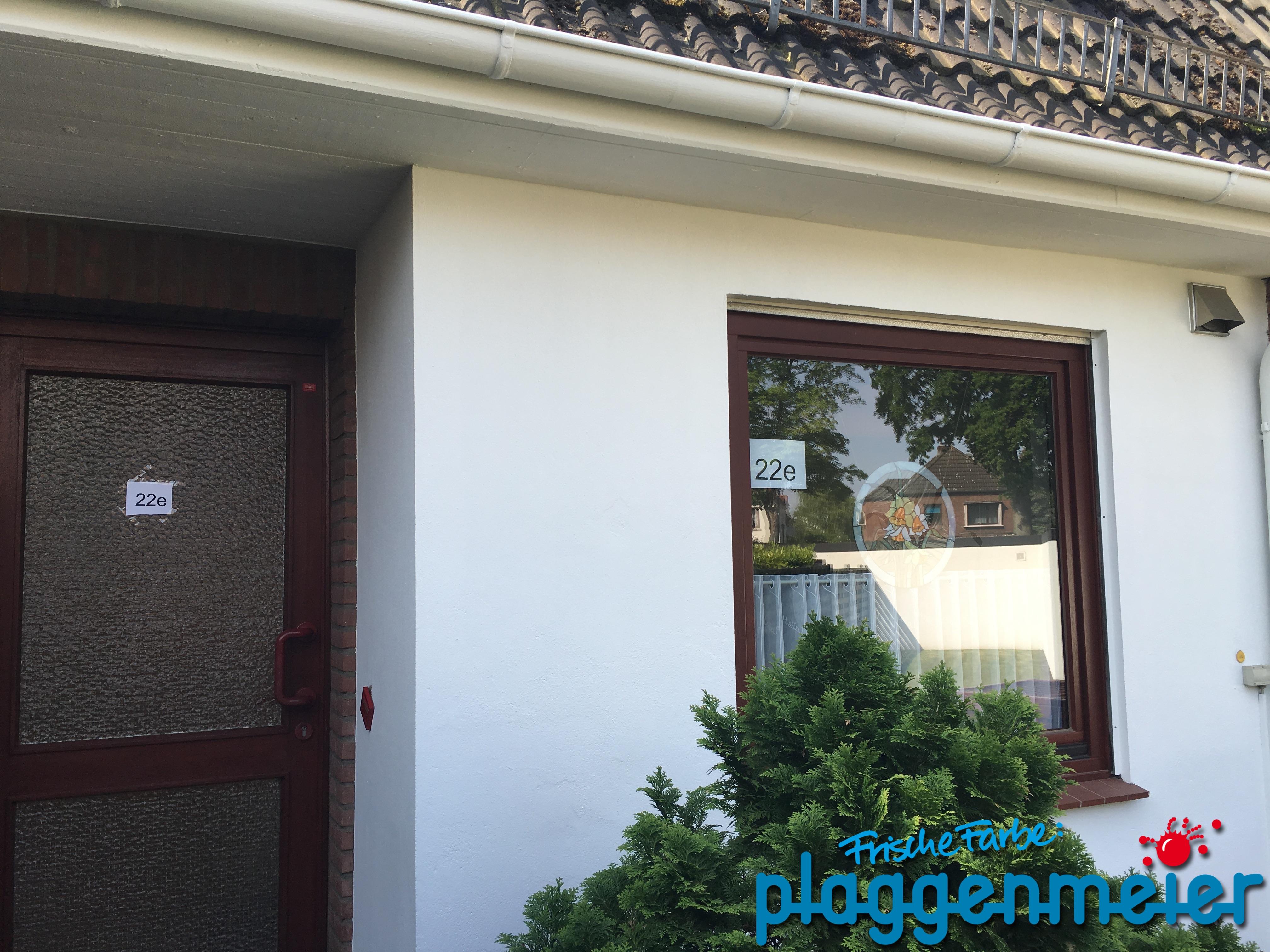 Ein kleines Haus umseitig gestrichen: Lernen im Kundenauftrag ist immer gut in der Ausbildung zum Maler und Lackierer