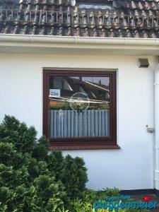 Dieses Haus kann sich nach der Behandlung durch unsere Auszubildenden wirklich sehen lassen.