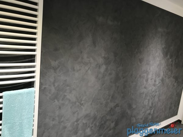 Eine Badgestaltung exklusiv mit Wildlederoptik vom Maler aus Bremen
