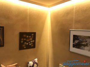 Indirekte Beleuchtung Mit Kalkputz: Tolles Wohnklima, Keine Schadstoffe,  Klasse Look Vom Maler Plaggenmeier