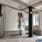 Noch ein Blick in den Durchgang des Görtz-Palais vom Maler aus Bremen in Hamburg renoviert.