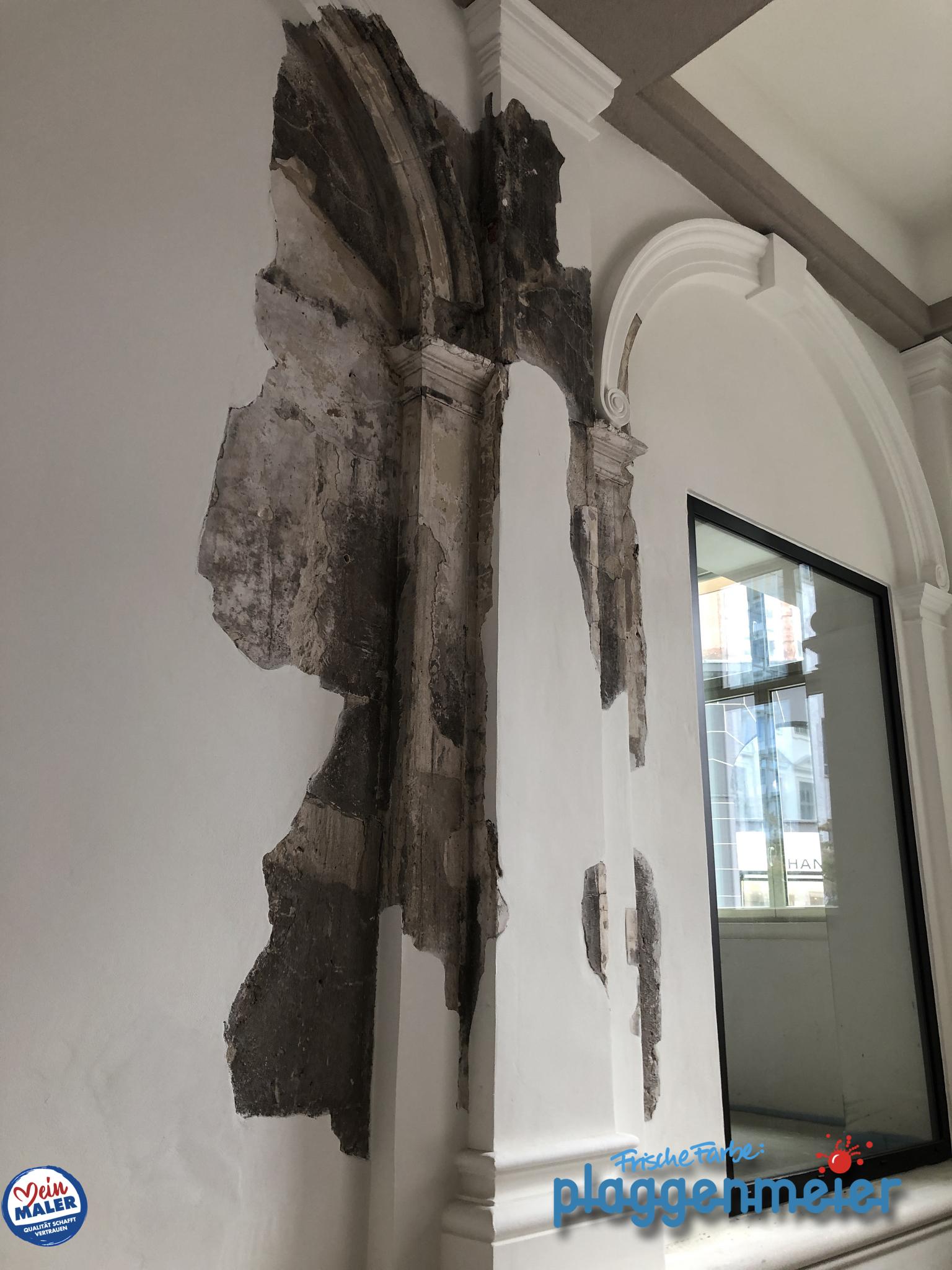 Als Denkmalschutz-Maler freuen wir uns, wenn ein Denkmal kreativ eingesetzt wird. Hier ist ein Originalteil konserviert worden. In Bremen von Frische Farbe Plaggenmeier Malerfachbetrieb