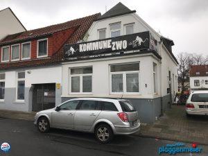 Fassadenanstrich in Bremen Hemelingen - Gestaltung vom Lieblingsmaler Plaggenmeier für einen Wunschkunden