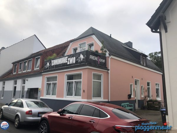 Fassadenanstrich für die Kommune zwo vom Bremer Fassadenprofi - so bleibt´s lange schön!